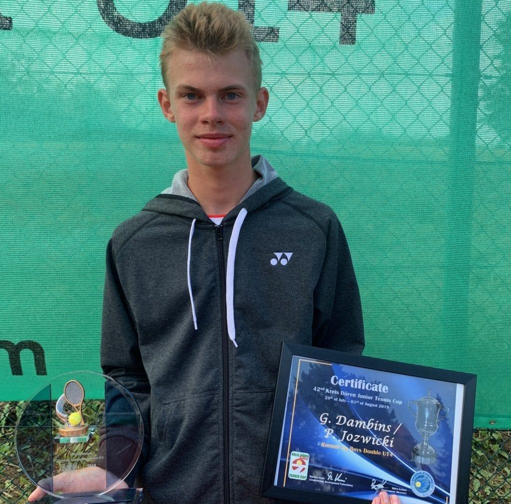 Patrick Jozwicki Leistungstraining Tennis Turnierbetreuung