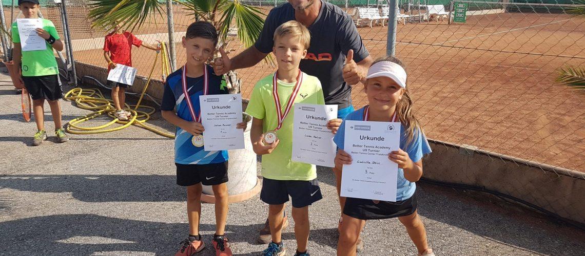 Turniere und Meisterschaften im Tennis Center Traiskirchen